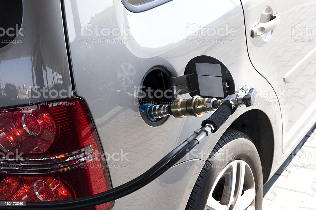 methane car royalty-free stock photo