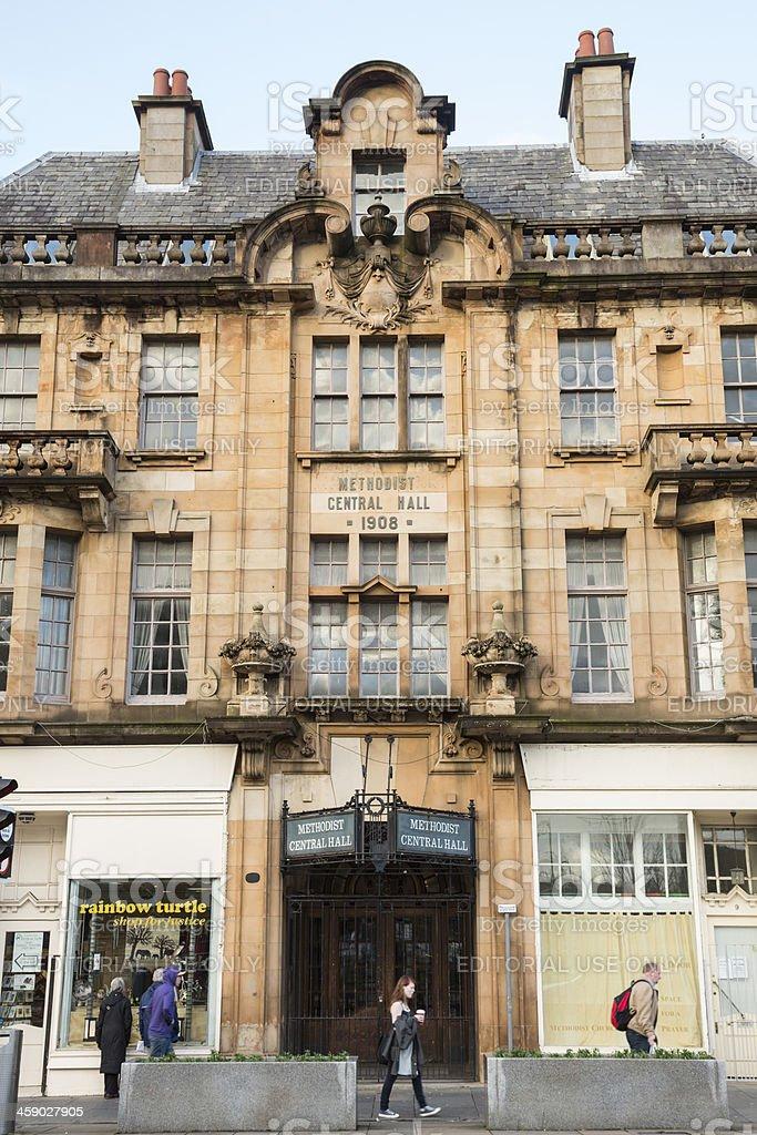 Methodist Central Hall, Paisley stock photo