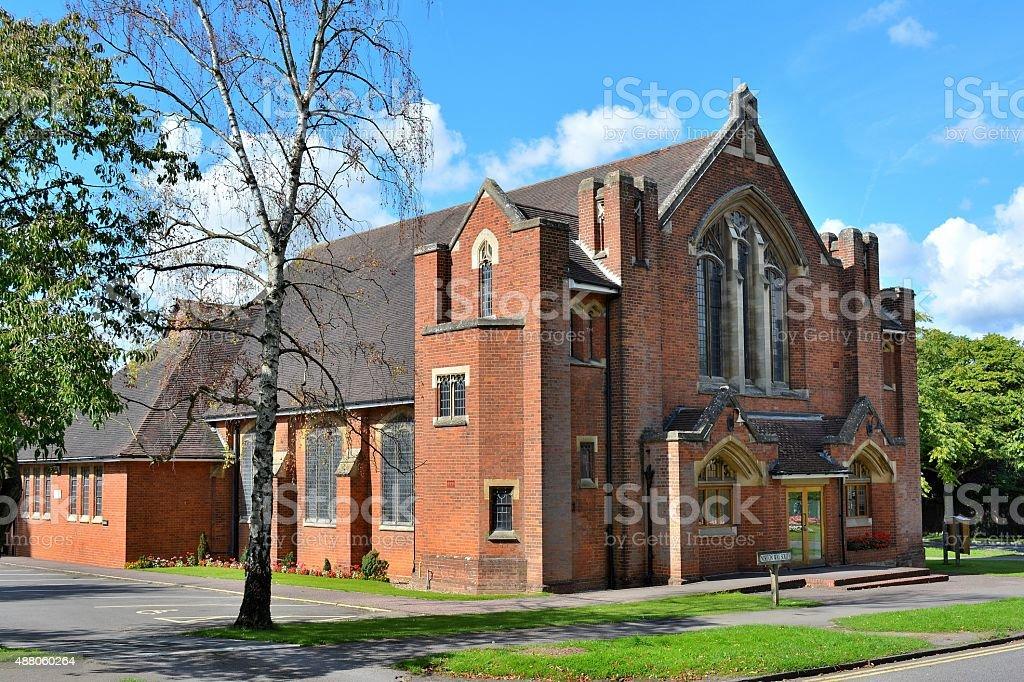 Methodist church, Letchworth Garden City stock photo
