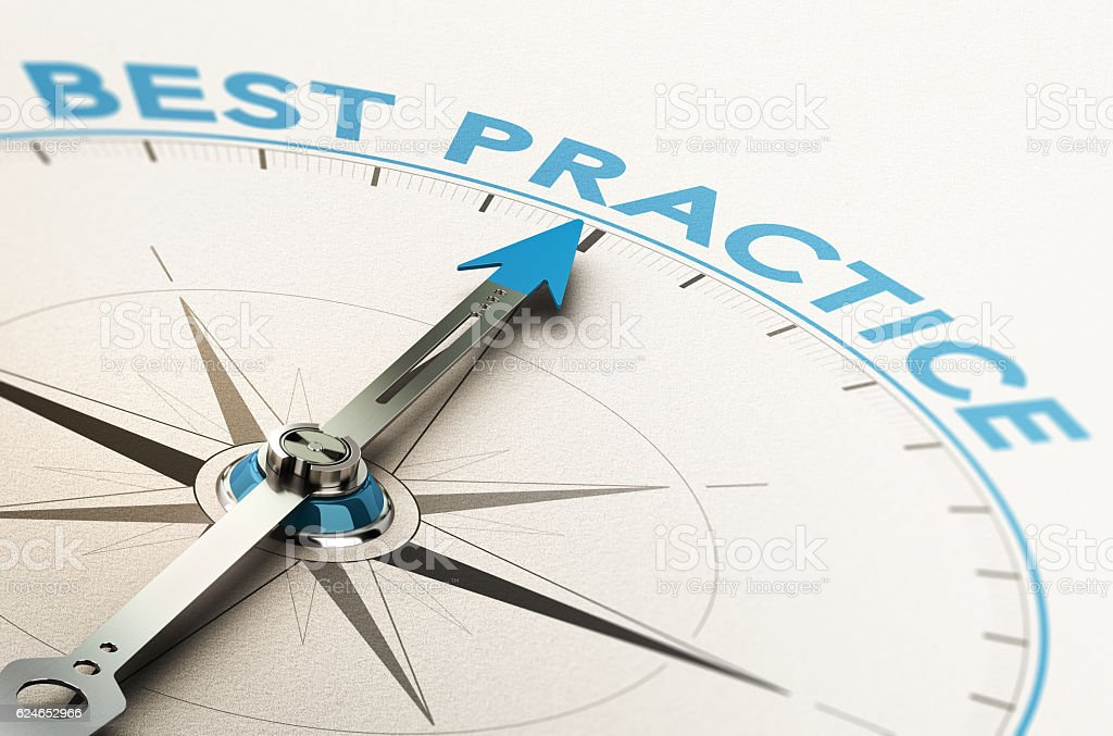 Methodology Best Practice Knowledge Management stock photo