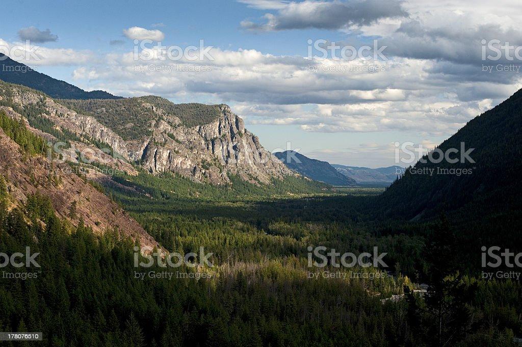Methow Valley, Washington State, USA royalty-free stock photo