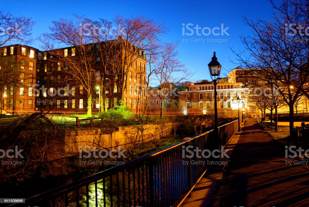 Methuen, Massachusetts stock photo