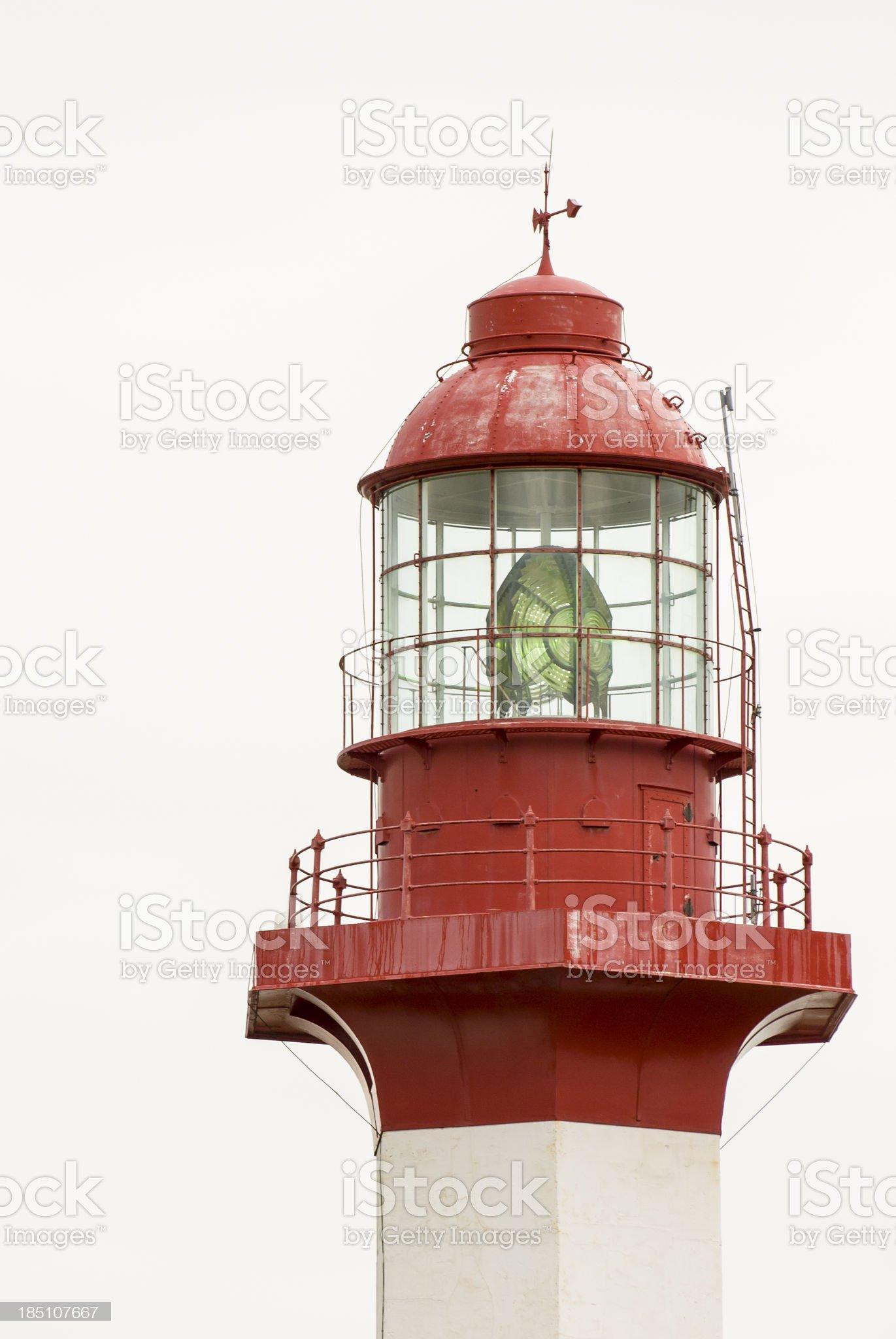 Metis-sur-Mer Lighthouse royalty-free stock photo
