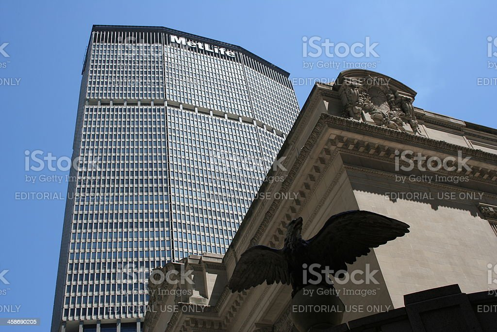 MetLife building, Manhattan, New York stock photo