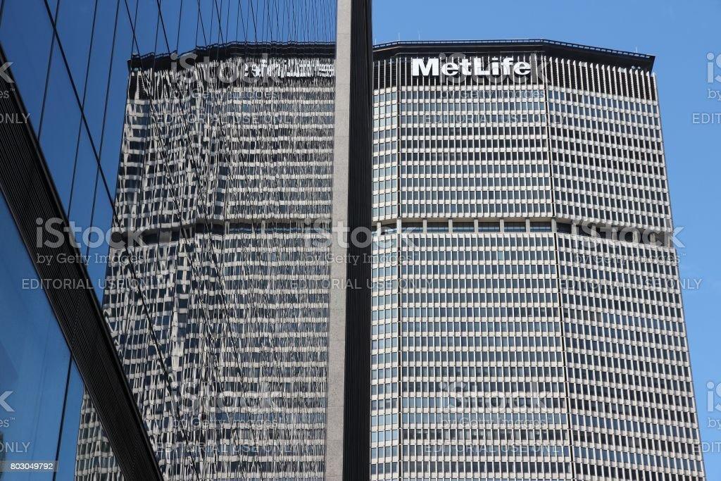 MetLife Building stock photo