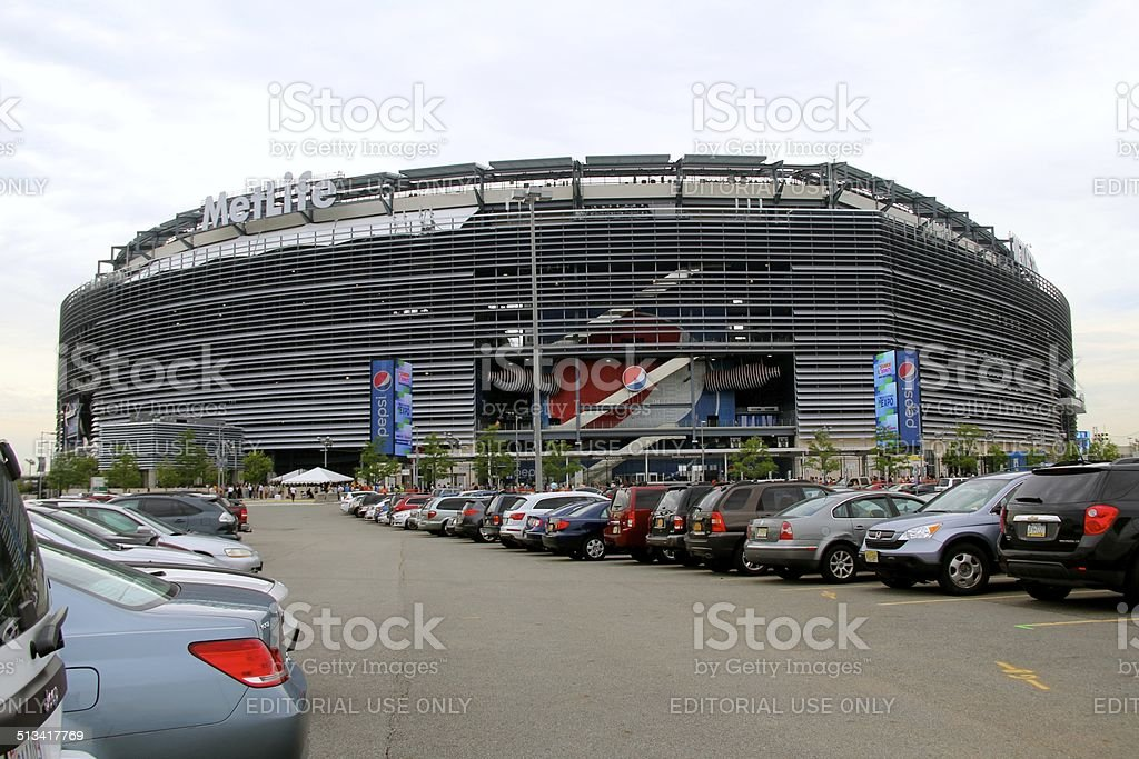 MetLife Stadium - Exterior View stock photo