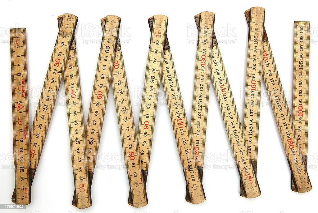 metric system stock photo