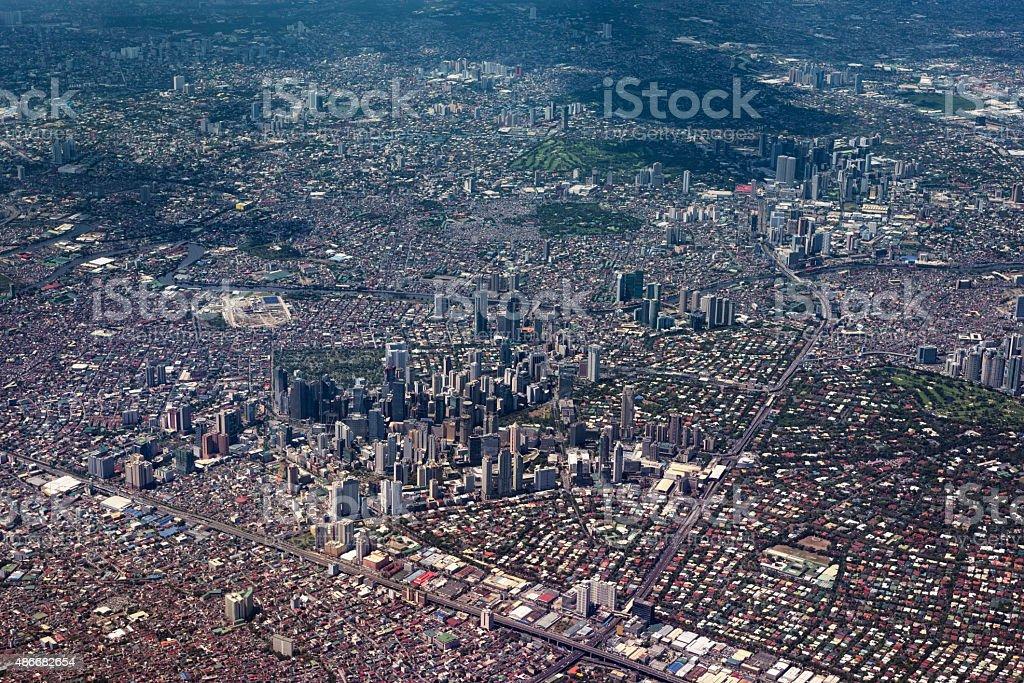 Metro Manila, Philippines. stock photo