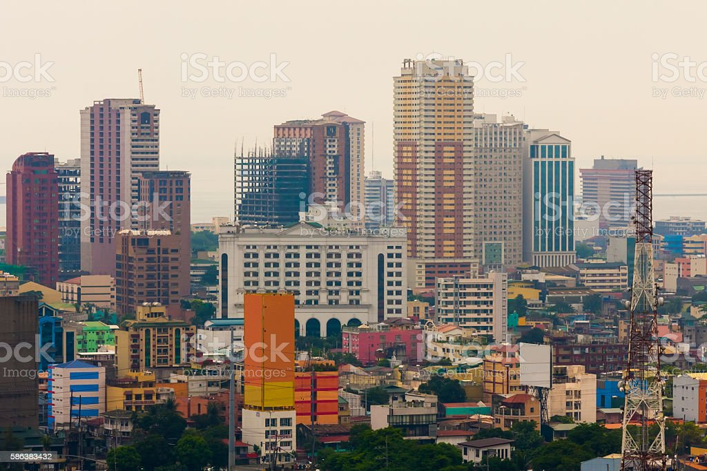 Metro Manila, Philippines stock photo