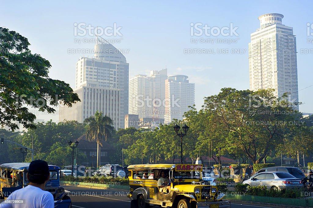 Metro Manila royalty-free stock photo