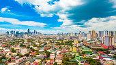 Metro Manila skyline during the day