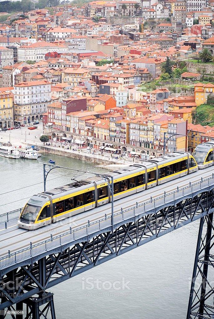 Metro Porto royalty-free stock photo