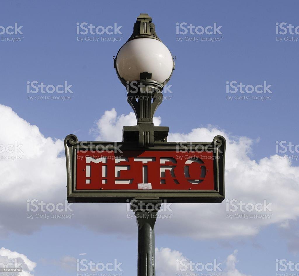 metro sky royalty-free stock photo