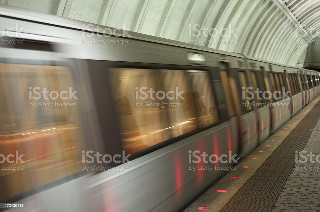 metro station washington dc royalty-free stock photo