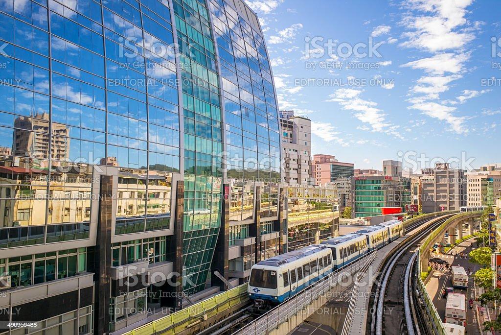 metro train stock photo