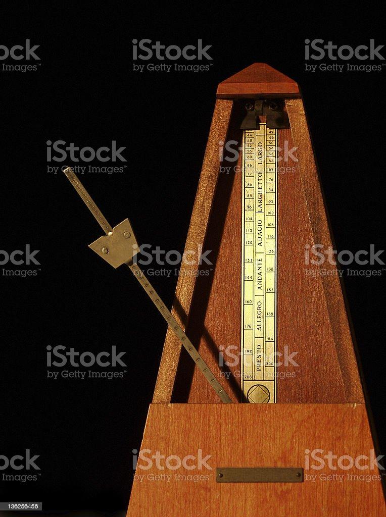 metronome royalty-free stock photo