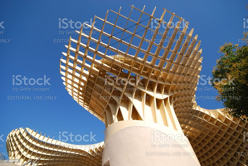 Metropol Parasol in Sevilla,Spain stock photo