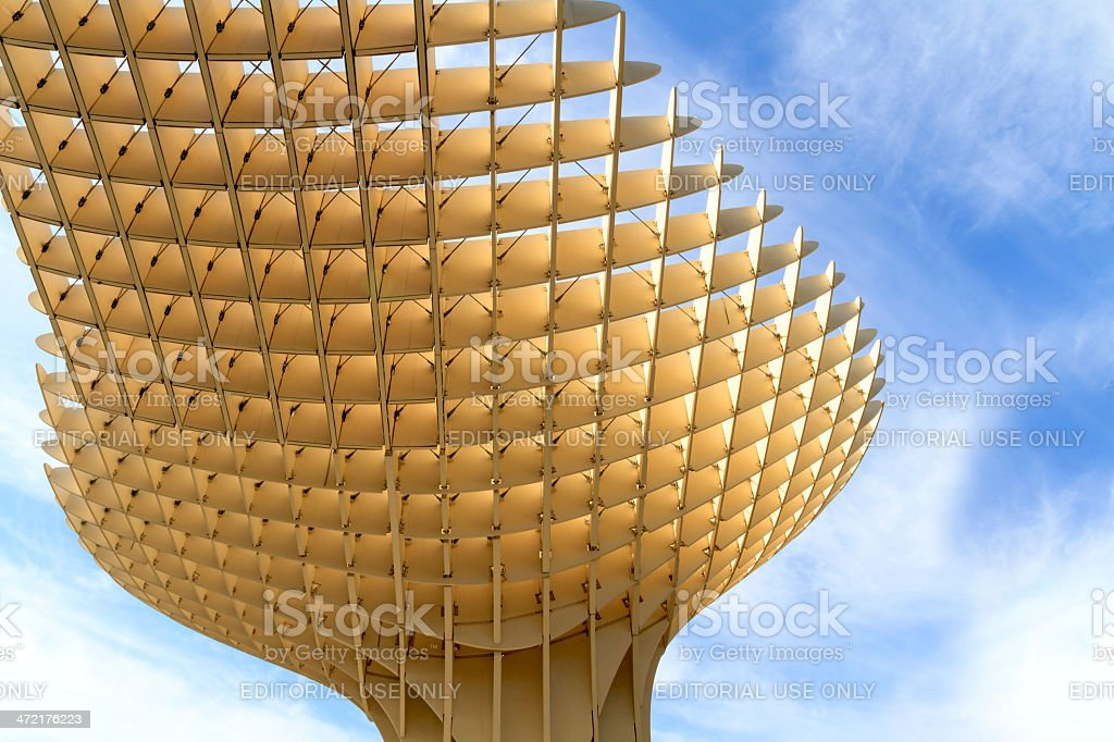 Metropol Parasol landscape stock photo