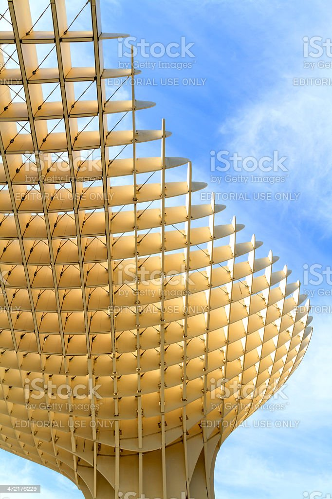 Metropol Parasol portrait stock photo