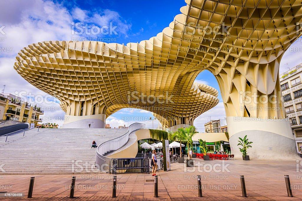 Metropol Parasol in Seville stock photo