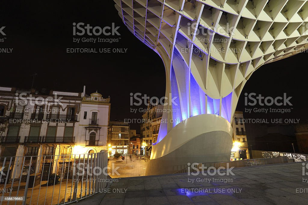 Metropol Parasol, Seville Spain royalty-free stock photo