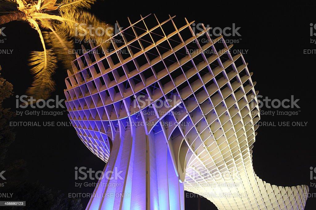 Metropol Parasol, Seville Spain royalty-free stock photo
