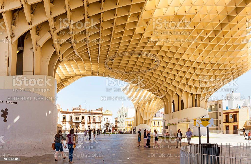 Metropol Parasol, Seville, Spain stock photo