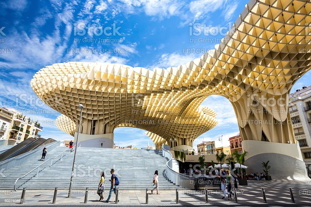 Metropol Parasol stock photo