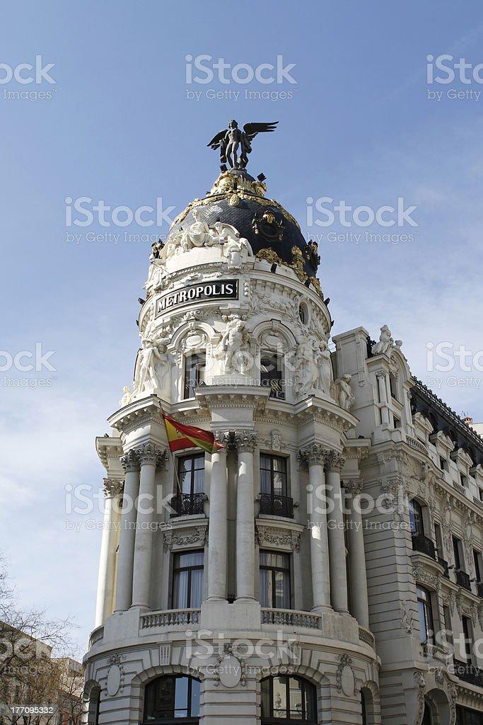 Edificio Metropolis stock photo