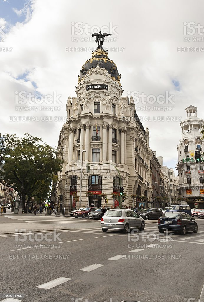 Metropolis Building royalty-free stock photo