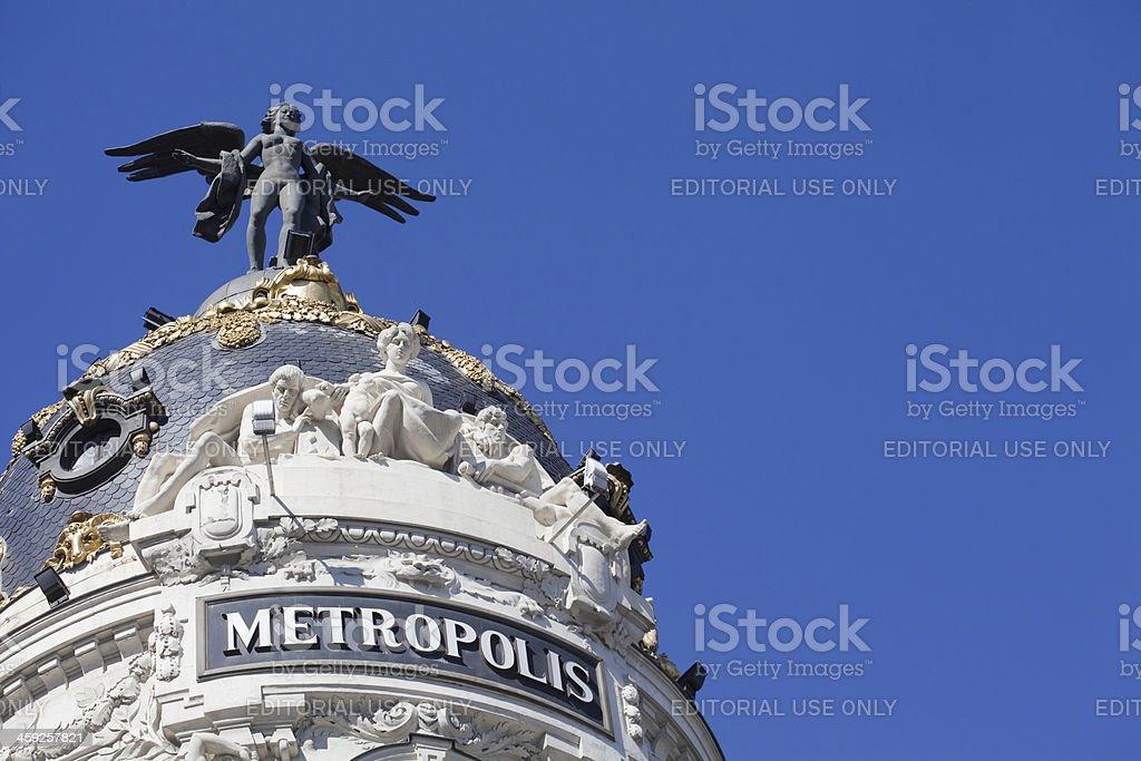 Metropolis building stock photo