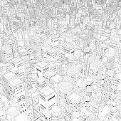 Metropolis in black and white