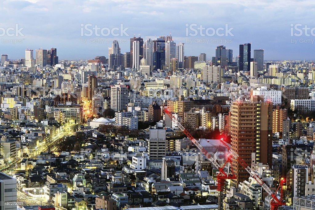 Metropolis. stock photo
