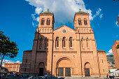 Metropolitan cathedral in Medellin