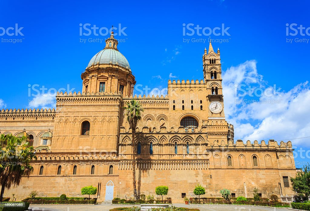 Metropolitan Cathedral of the Assumption of Virgin Mary stock photo