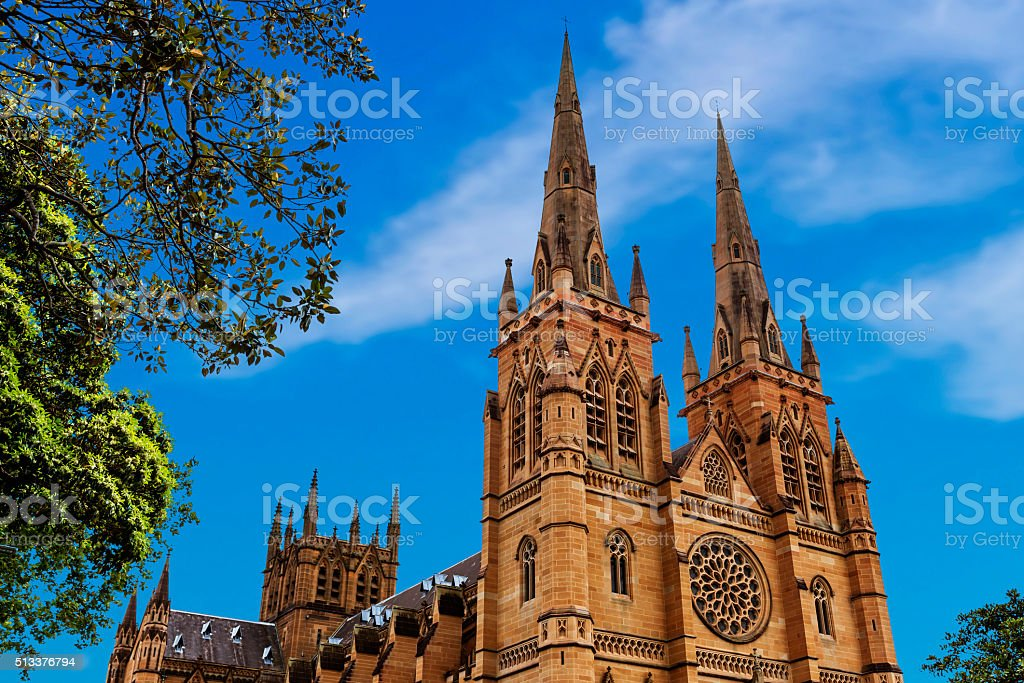 Metropolitan Cathedral of the Immaculate stock photo