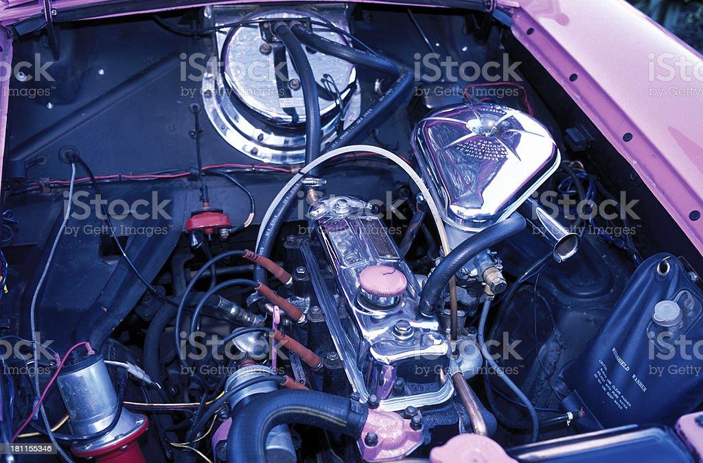 Metropolitan Engine stock photo