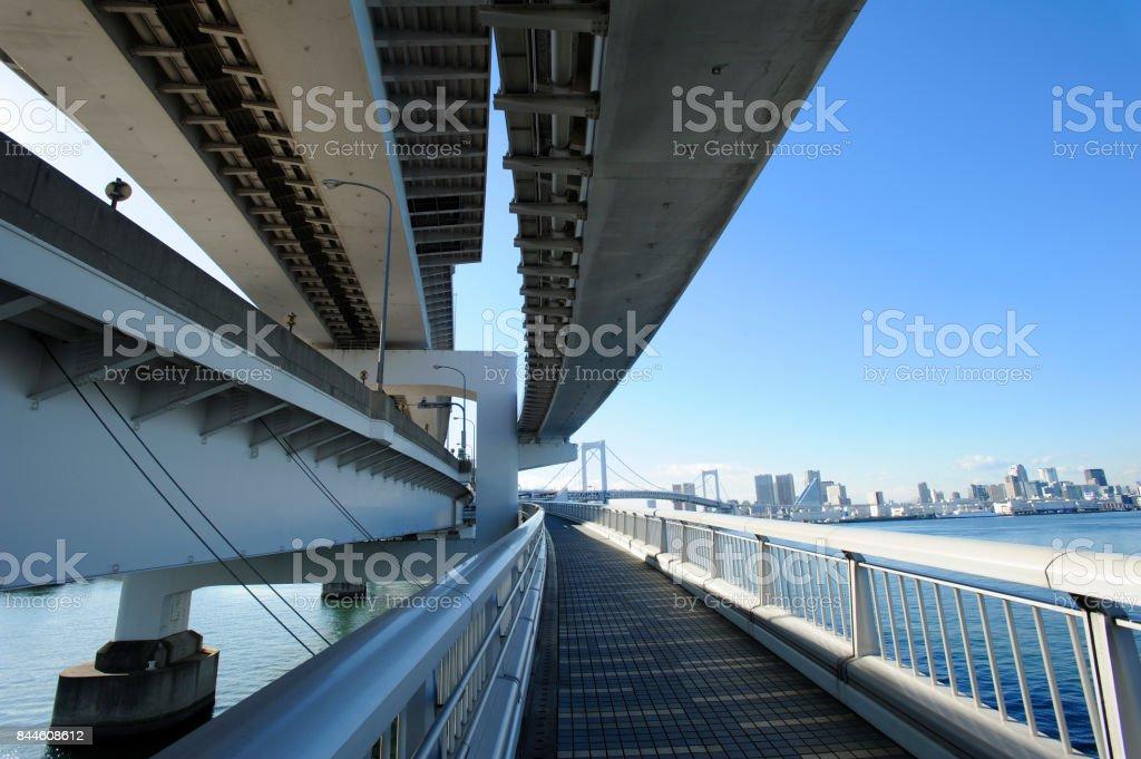 Metropolitan Expressway stock photo