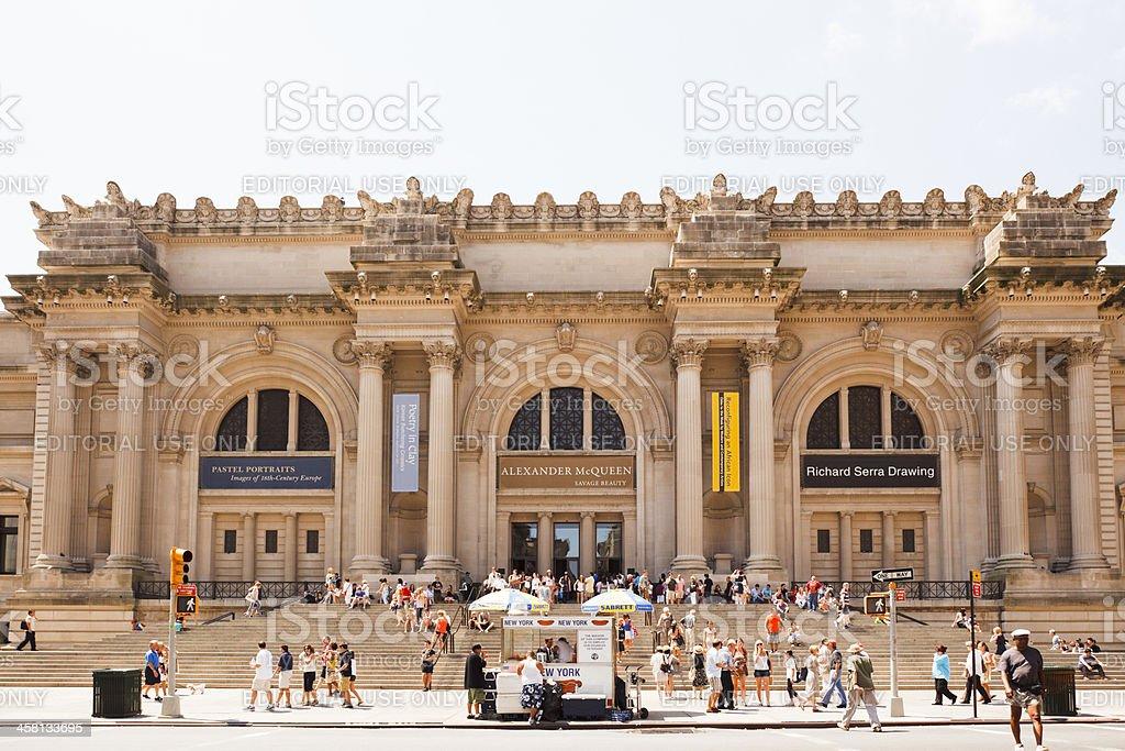 Metropolitan Museum of Art New York City stock photo