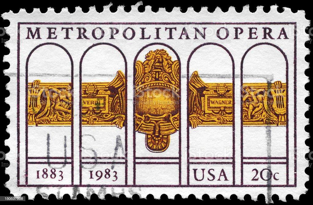 Metropolitan Opera royalty-free stock photo