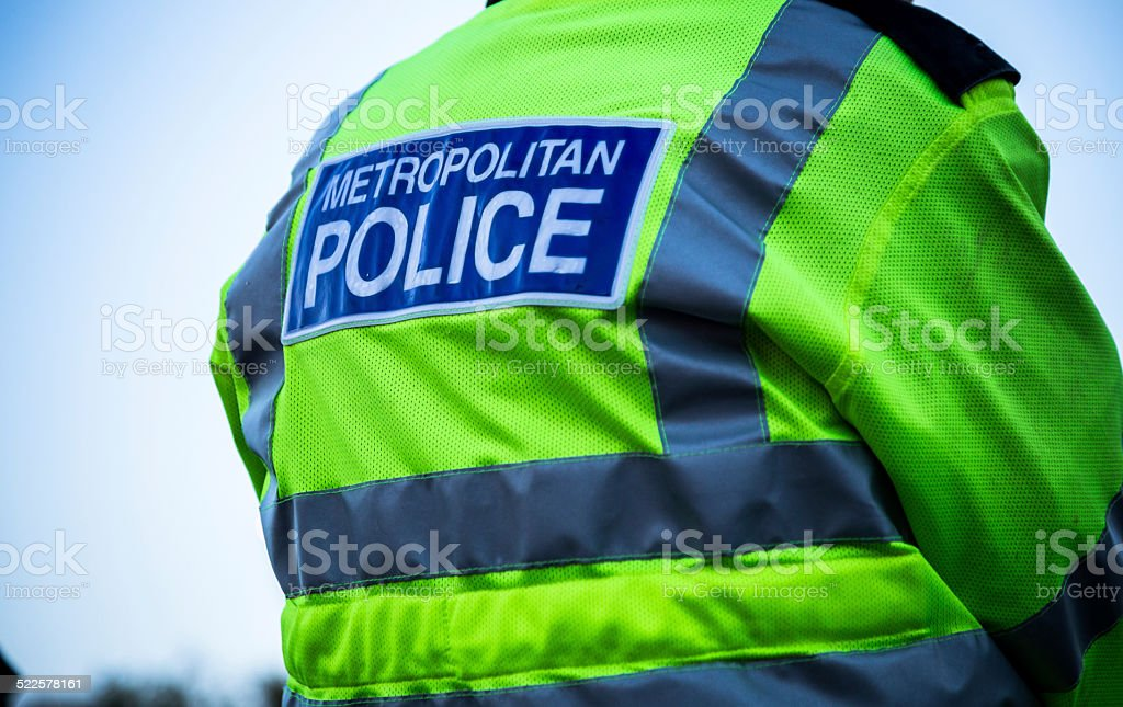 Metropolitan Police Officer stock photo