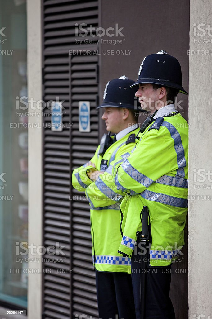Metropolitan Police stock photo