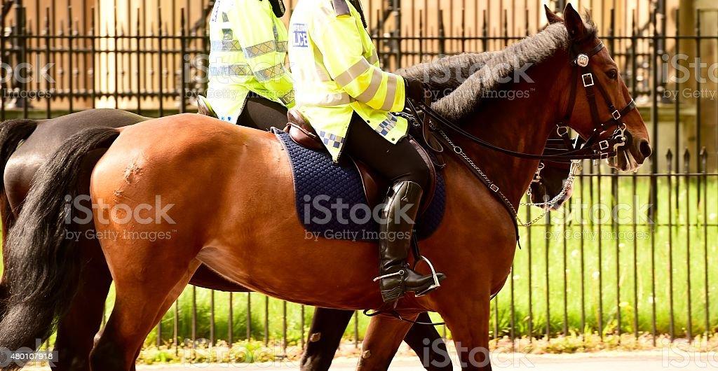 Metropolitan Police Service, London stock photo