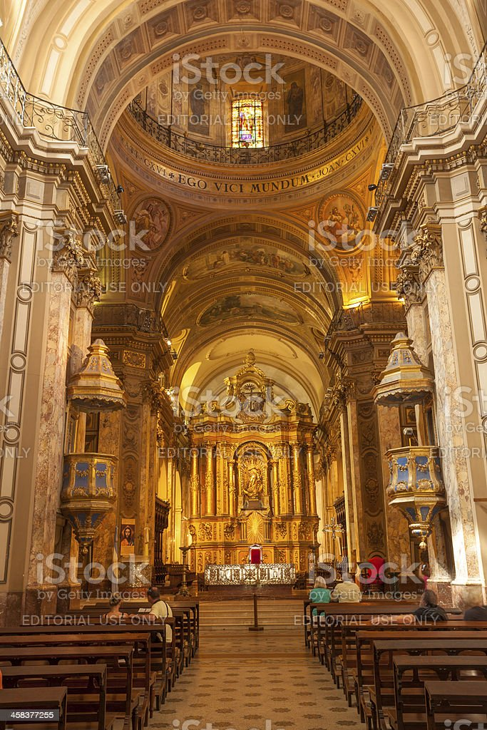 Metropolitana Cathedral royalty-free stock photo