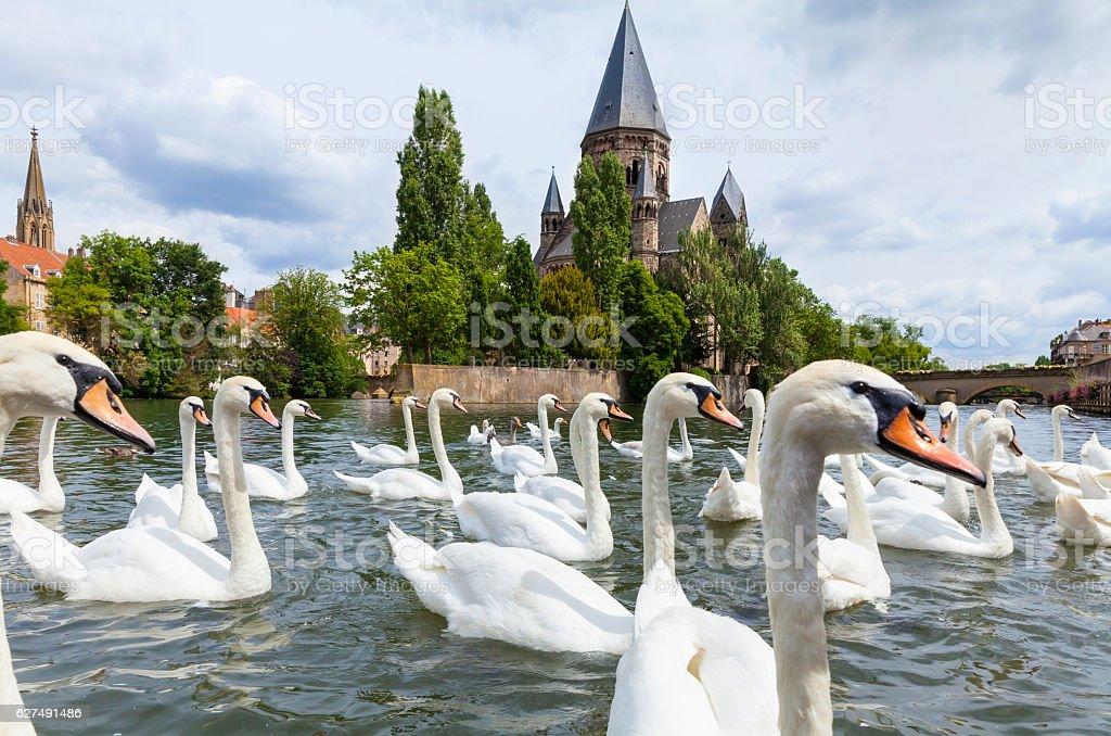 Metz, France stock photo
