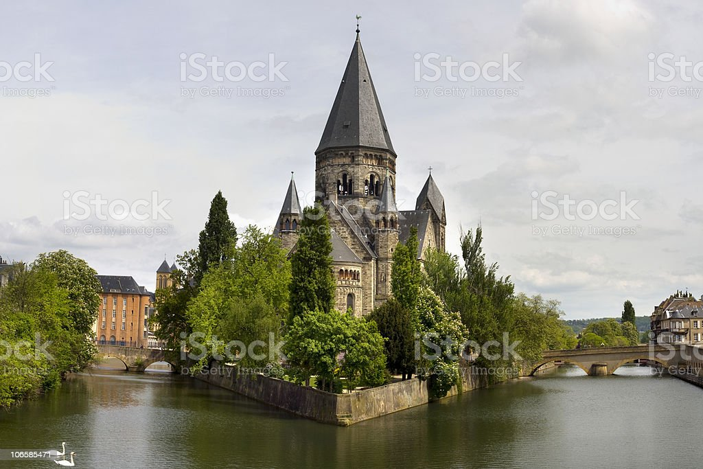 Metz stock photo