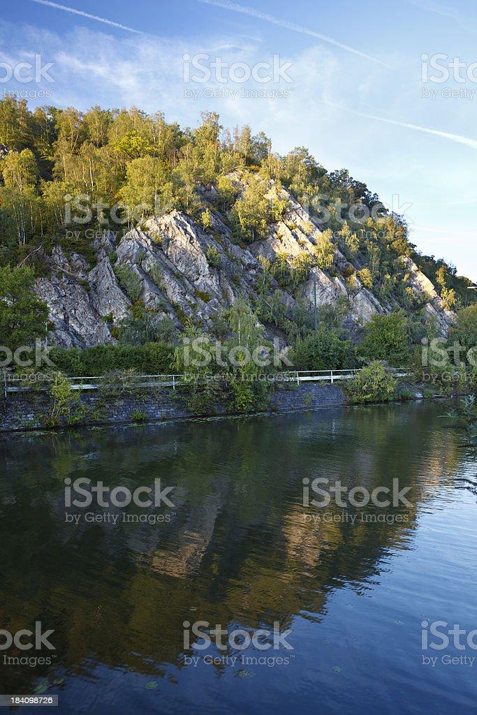 Meuse Valley stock photo