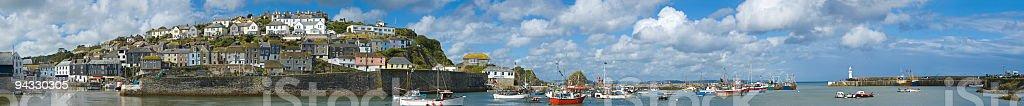 Mevagissey, Cornwall, UK royalty-free stock photo