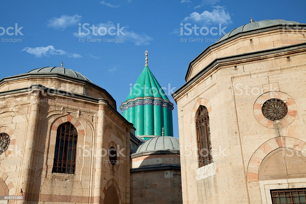 Mevlana in Konya, Turkey stock photo