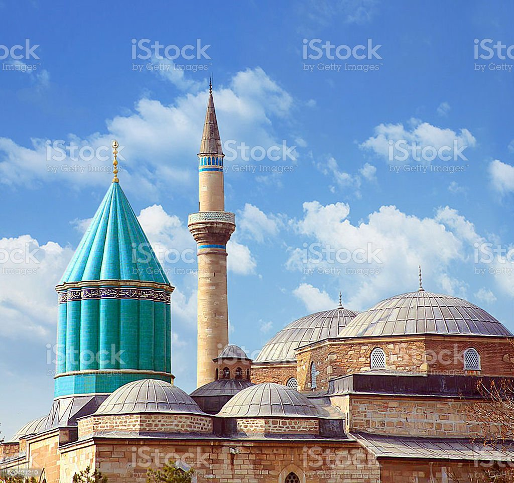 Mevlana Turkey stock photo